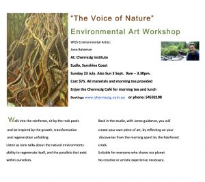 The Voice of Nature workshop